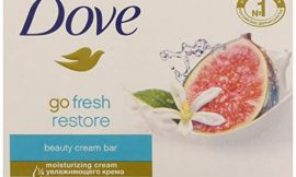 Dove Go Fresh Restore Beauty Bars, Blue Fig and Orange Blossom Scent, 4.75 Oz (Pack of 12)