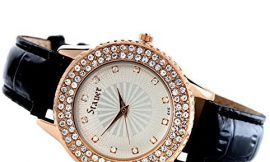 Stauer Women's Sirene Watch with Rose Gold Finished Case