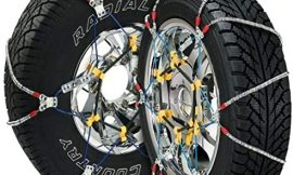 Security Chain Company SZ435 Super Z6 Cable Tire Chain for Passenger Cars, Pickups, and SUVs – Set of 2