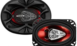 BOSS Audio Systems CH4630 Car Speakers – 250 Watts of Power Per Pair and 125 Watts Each, 4 x 6 Inch, Full Range, 3 Way, Sold in Pairs, Easy Mounting
