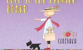 Mary Engelbreit 2021 Deluxe Wall Calendar: Back to the Drawing Board