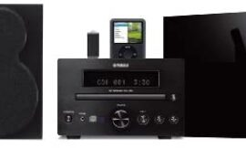 Yamaha MCR-330BL Micro Component Receiver CD Player Unit (Black) (Discontinued by Manufacturer)
