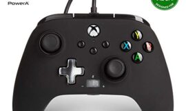 PowerA Enhanced Wired Controller for Xbox – Black, Gamepad, Wired Video Game Controller, Gaming Controller, Xbox Series X|S, Xbox One – Xbox Series X
