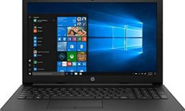 HP 15.6inch Laptop, AMD Dual Core A4-9125 Processor Up to 2.60GHz, 4GB Memory, 500GB HDD Storage, AMD Radeon Graphics, Webcam, RJ-45, HDMI, Win10 OS(Renewed)