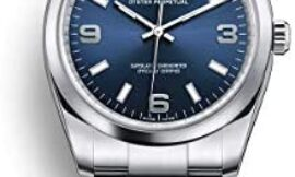 Rolex Oyster Perpetual 34 Stainless Steel / Oyster Bracelet / Blue Dial