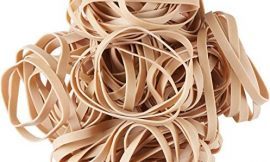 Bulk Large Rubber Bands Size 64 Thick 3 1/2″ x 1/4″, Heavy Duty and Soft Stretch, Latex Elastics, Natural Tan Color, for Office Supply, File Storage, and Organization, Bulk Bag 5 Pounds (1600 Count)