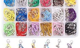 PH PandaHall 180 PCS 18 Color 2.75″ Strap Charm Lariat Lanyard W/Lobster Clasp Cords for Cellphone/USB Drive/Keychain/DIY Jewelry
