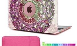 CiSoo MacBook Air 13 Inch Case 2018 2019 Release Mandala Laptop Hard Shell Case for Model Number A1932, Keyboard Cover Sleeve Protective Bag Compatible with New MacBook Air Retina 13″