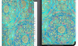Fintie Slimshell Case for All-New Kindle (10th Generation, 2019 Release) – Lightweight Premium PU Leather Cover with Auto Sleep/Wake (NOT Fit Kindle Paperwhite or Kindle 8th Gen), Shades of Blue