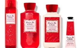 Bath and Body Works YOU'RE THE ONE – New Daily Trio Gift Set Body Lotion – Fine Fragrance Mist and Shower Gel + Hand Cream Lot of 4