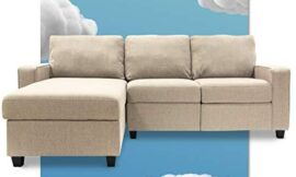 Serta Palisades Reclining Sectional with Left Storage Chaise – Dusk Beige