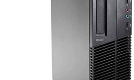 Lenovo ThinkCentre M82 SFF High Performance Business Desktop Computer, Intel Core i5-3470 up to 3.6GHz, 16GB DDR3, 128GB SSD, DVD, Windows 10 Professional (Renewed)