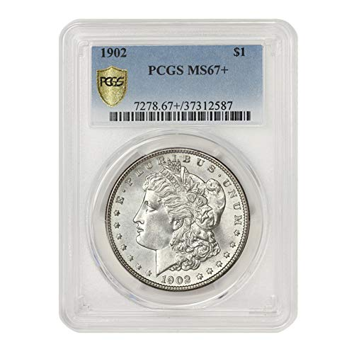 1902 American Silver Morgan Dollar MS-67+ Illinois Set by CoinFolio $1 MS67+ PCGS