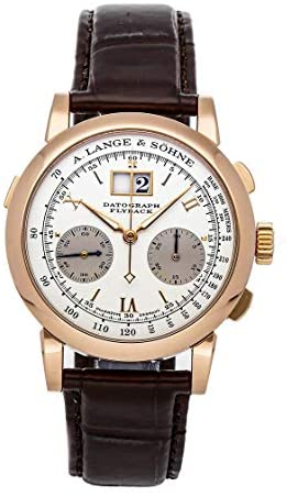 A. Lange & Sohne Datograph Mechanical (Hand-Winding) Silver Dial Mens Watch 403.032 (Certified Pre-Owned)