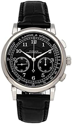 A. Lange & Sohne 1815 Manual Wind Black Dial Watch 414.028 (Pre-Owned)