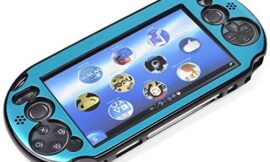 Cosmos Light Blue Aluminum Metallic Protection Hard Case Cover for Playstation PS VITA 2000 (NOT for vita 1000 Series)