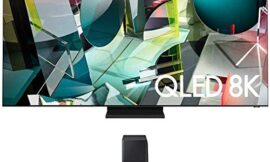 Samsung QN85Q900TS 8K Ultra High Definition Smart Quantum QLED TV with a Samsung HW-Q900T 7.1.2 Channel Soundbar with Dolby Atmos and DTS:X (2020)