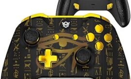 HexGaming Custom Esport Blade Controller 2 Paddle Buttons & Interchangeable Thumbsticks & Triggers Stop for Xbox Series X/S, Xbox Custom Controller PC Wireles FPS Gaming Gamepad – Eye of Origin