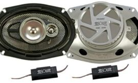 Absolute USA PRO6993 6-Inch x 9-Inch 3-Way 500-Watts Max Total With Dome Tweeter