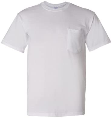 Gildan – DryBlend 50 Cotton/50 DryBlendPoly Pocket T-Shirt. 8300