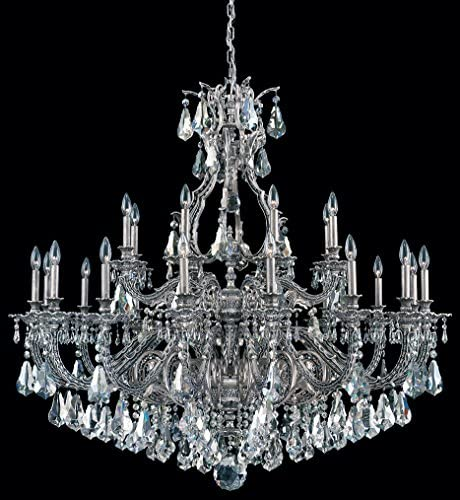 Schonbek 6962-26S Sophia 24 Light Large Foyer Chandelier in French Gold with Swarovski Strass Clear crystal