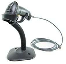 (Formerly Motorola Symbol) LS2208 Digital Handheld Barcode Scanner with Stand and USB Cable