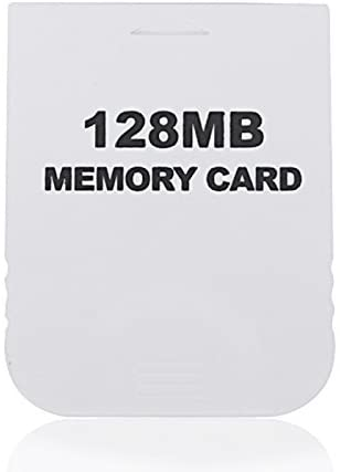 Honbay 128MB White Memory Card compatible for Wii & Gamecube Console