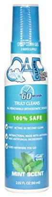 New Bottle! OAP Deep Clean Gel- Cleans and Sterilizes Removeable Dental and Ortho Appliances | 90 Days Supply