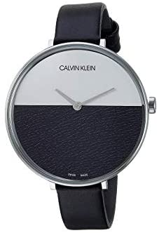 Calvin Klein Rise – K7A231C1 Stainless Steel/Black/White One Size