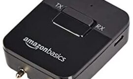 Amazon Basics – 2-in-1 Bluetooth Transmitter/Receiver Adapter