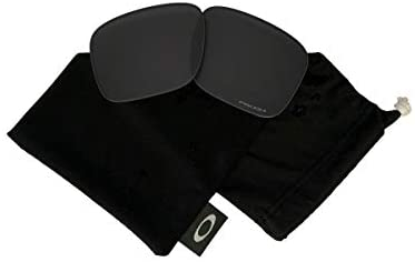 Oakley Original Holbrook OO9102 Replacement Lenses For Men For Women+BUNDLE with Oakley Microfiber Cloth Bag