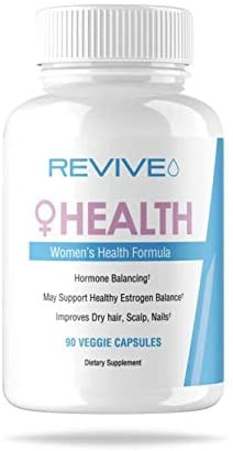 Revive MD Women's Health | Vitamin Health Supplement for Women | Hormonal Balancing – Hair, Skin Nail Support