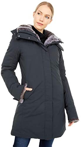 Save The Duck Faux Fur Lined Parka with Removable Hood