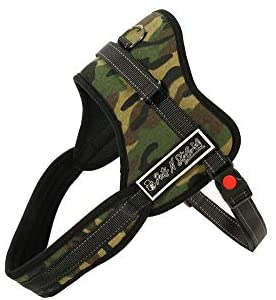 Overstock Camouflage Soft Leash Padded No Pull Dog Harness – Large
