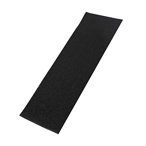 Chaotai Grip Tape Skateboards Professional Sandpaper Deck PVC Sticker Perforated Anti-Slip No Bubbles ugh Sheet Parts Electric Scooter(Black)