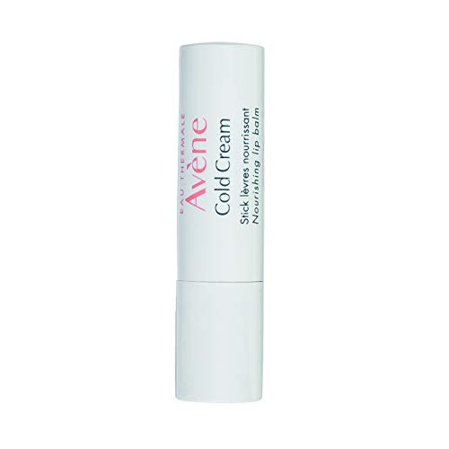 Eau Thermale Avene Cold Cream Nourishing Lip Balm With Shea Butter For Chapped Lips, Paraben-Free, 0.1 oz.