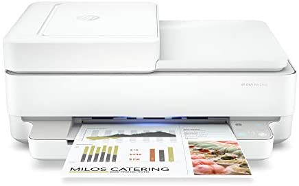 HP Envy Pro 6452 Wireless All-in-One Color Inkjet Printer, Mobile Print, Scan & Copy, Instant Ink Ready, 5SE47A (Renewed)