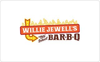 Willie Jewell's Old School Bar-B-Q Gift Card