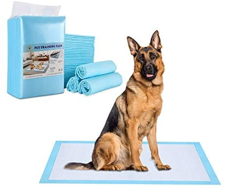 OWNPETS Dog Training Pad XL: 24'' x 35'', Leak-Proof 6-Layer Pet Potty Training Pads Pee Pads with Quick-Dry Surface for Pets, Puppies, Adult, Sick & Aging Dogs