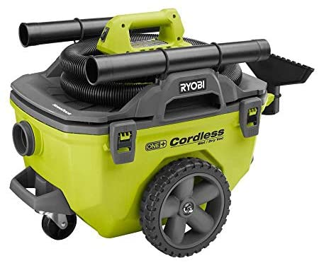 Ryobi 18 Volt ONE+ 6 Gal. Cordless Wet/Dry Vacuum (Tool Only) (Non-Retail Packaging)