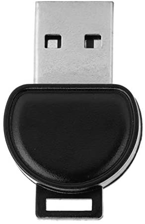 Bluetooth Adapter for PC, USB Bluetooth 5.0 Adapter Mini USB Dongle Transmitters Wireless Transfer Sharing for Windows All/OS X/Linux, Black ABS USB Bluetooth Adapter(T84)