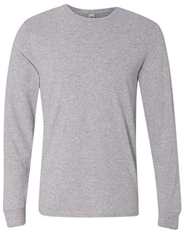 Fruit of the Loom Mens Sofspun Long Sleeve T-Shirt
