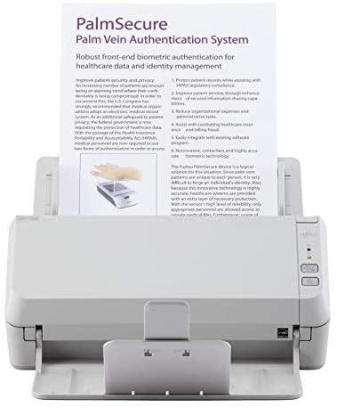 Fujitsu SP-1120N Price Performing, Network Enabled Color Duplex Document Scanner with Auto Document Feeder (ADF)