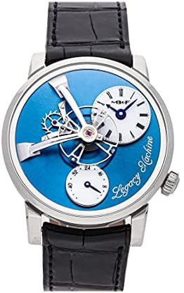 MB&F Legacy Machine Manual Wind Blue Dial Watch 51.PL.W (Pre-Owned)