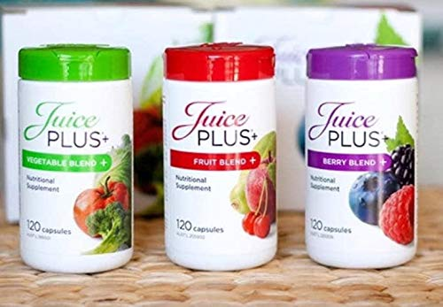 Juice Plus+ Fruit, Vegetable, and Berry Capsules 2 Month Supply