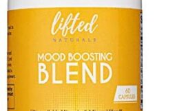 Lifted Naturals – Mood Boosting Blend – Vitamin D from Lichens, K2 (MK7), Magnesium Glycinate, Vitamin C, and Zinc Sulfate