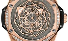Hublot Limited Edition Sang Bleu One Click Gold with Diamonds Watch 465.OS.7048.VR.1204.MXM20