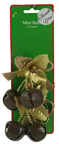Dazzling Deals Holiday Style Brown Bells 2 Count