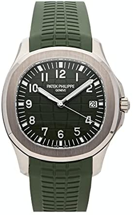 Patek Philippe Aquanaut Mechanical(Automatic) Green Dial Watch 5168G-010 (Pre-Owned)