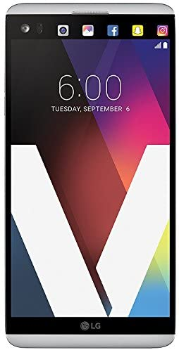 LG V20 H910a AT&T Unlocked GSM 4G LTE Quad-Core Smartphone w/ Dual Rear Cameras (16MP+8MP) – Silver (Renewed)
